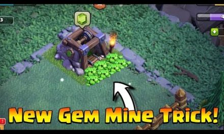 Only 1% Clashers Know This New Gem Mine Trick – Clash Of Clans