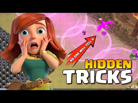 Only 1% Clashers Know This NEW TRICK – CLASH OF CLANS