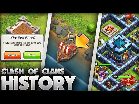 The History of Clash of Clans (2012 -2020) 8 Year Anniversary Special!
