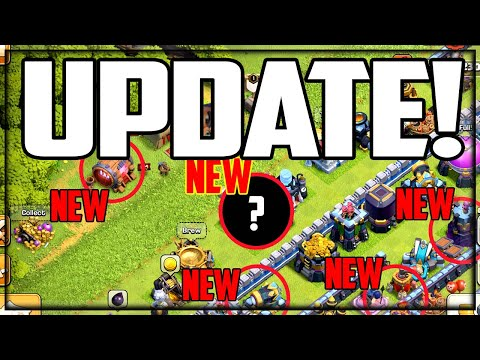 UPDATE! Clash of Clans NEW Troops, NEW Levels, and MORE!