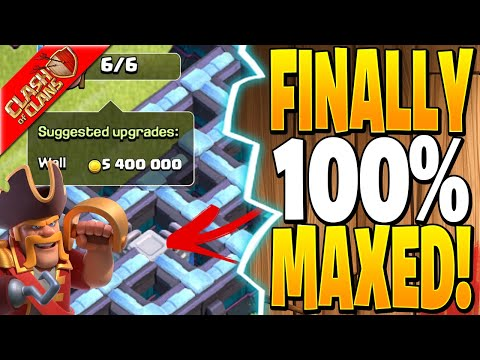 FINALLY 100% MAX TH13!! – Clash of Clans