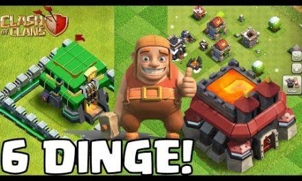 6 DINGE, DIE JEDES UPDATE HABEN SOLLTE! * Clash of Clans * COC