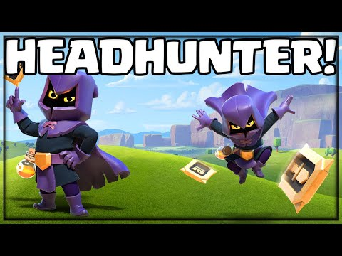 THE HEADHUNTER! Clash of Clans Update Sneak Peek!