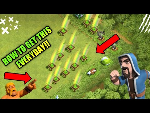 Trick to get unlimited gem boxes per day!!||New trick in clash of clans||Clash of clans India||