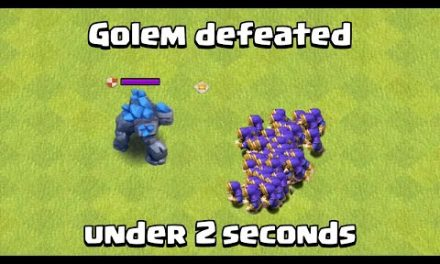 Golem Speedrun | Clash of Clans