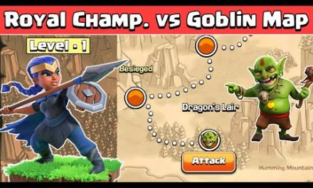 Level 1 Royal Champion Vs Goblin Maps | Clash of Clans