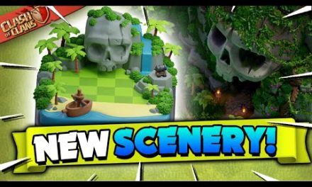 New Pirate Scenery in Clash of Clans!