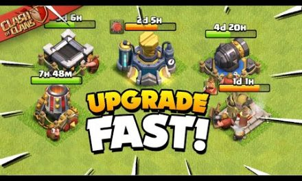 Secrets to Upgrade Your Base Fast (Clash of Clans)