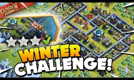 Easily 3 Star the Epic Winter Challenge (Clash of Clans)