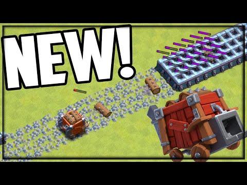 UPDATE Sneak Peek – LOG LAUNCHER in Clash of Clans!