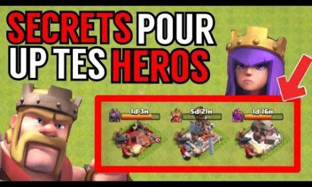 SECRETS POUR AMELIORER TES HEROS ! Clash Of Clans