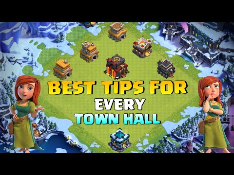 Top 10 Pro Tips and tricks For Every Town hall Level in Clash of Clans  – COC