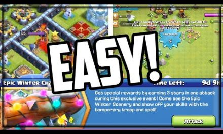 BEAT the Winter Challenge in Clash of Clans in ONE TRY!