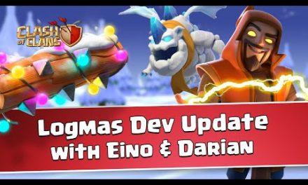 Clash of Clans Logmas Dev Update (December Update 2020)