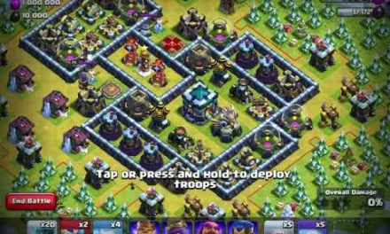 EPIC WINTER CHALLENGE 3 STAR | CLASH OF CLANS