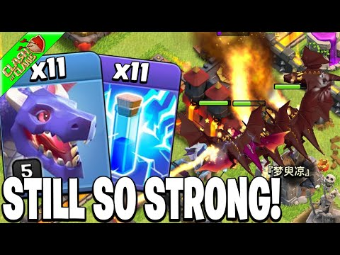 ZAP DRAGS still CRUSHES TH10 Bases! – Clash of Clans