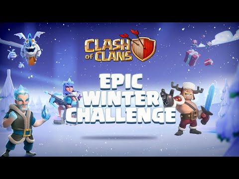 Epic Winter Challenge! (Clash of Clans)