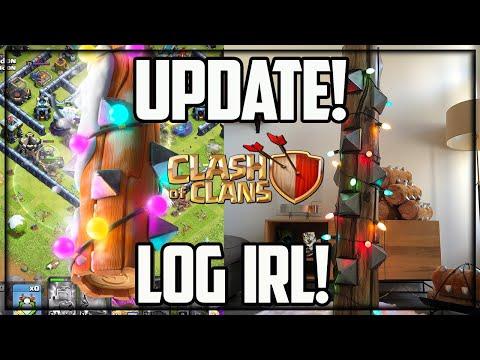 Clash of Clans UPDATE – Supercell SENT ME A HUGE LOG!