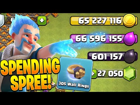 TIME FOR A GEMMING SPREE! – Clash of Clans