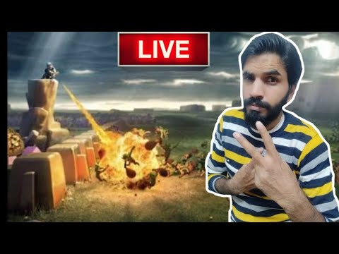 LIVE LEGEND LEAGUE ATTACKS WITH FULL CLAN….CLASH OF CLANS…COC…