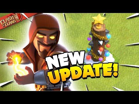Winter Update Arrived! Clan War League with New Troop and Spell (Clash of Clans)