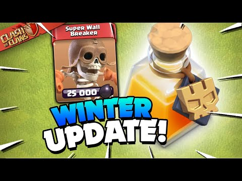 Big Update to Super Troops and New Magic Item (Clash of Clans)