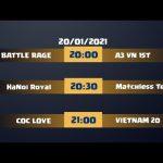 COC LOVE TOURNAMENT #1 DAY 3 Clash Of Clans | Akari Gaming