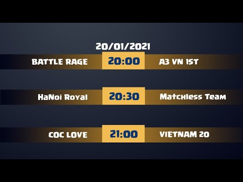 COC LOVE TOURNAMENT #1 DAY 3 Clash Of Clans | Akari Gaming