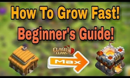 (HINDI) How to grow fast in clash of clans and max your townhall best tips & tricks [FOR BEGINNER'S]
