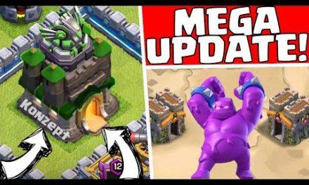 MEGA UPDATE DIESES JAHR! 😱😍 Clash of Clans * CoC