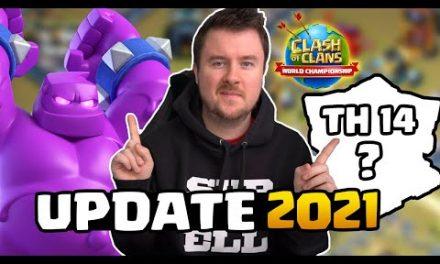 Clash of Clans Update 2021 NEWS | Rathaus 14, NEUE Feature, Clash Worlds