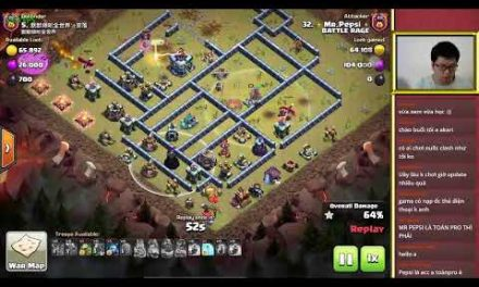 BATTLE RAGE vs TRUNG QUỐC (CHINA) TH13 LIVE ATTACK | Clash Of Clans | Akari Gaming