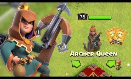 New Update – February Archer Queen Skin ( Rogue Queen ) Gameplay in Clash of Clans