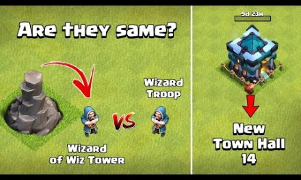 Wizard Vs Wizard Tower's Wizard | Town Hall 14 Update 2021 | Clash of Clans