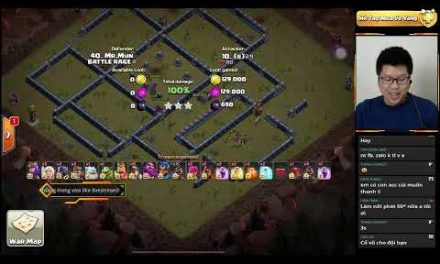 BATTLE RAGE vs HÀN QUỐC (KOREA) CHUỖI WIN 5 TH13 LIVE ATTACK   Clash Of Clans   Akari Gaming