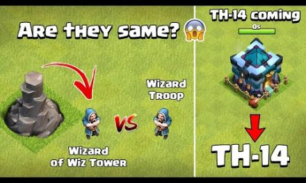 Wizard Vs Wizard Tower's Wizard | TH14 Update 2021 | Clash of Clans