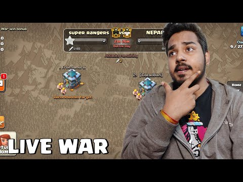 Clash of Clans Update – Live War Doing Something Different
