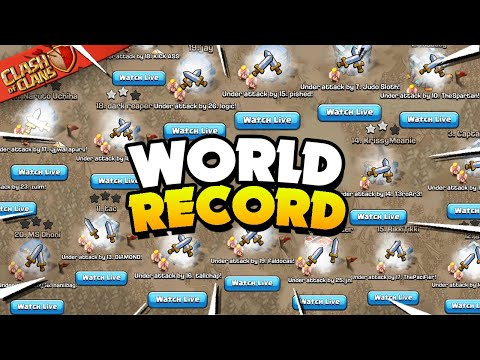 400 Attacks at the Same Time! 400K Sub Special (Clash of Clans)
