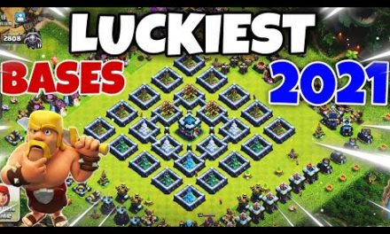 Luckiest Bases in Clash of Clans History||Top 3 luckiest Bases in Coc 2021