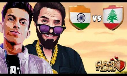 INDIA VS LEBANON LIVE WORLD CUP…..CLASH OF CLANS-COC…. @Sumit 007