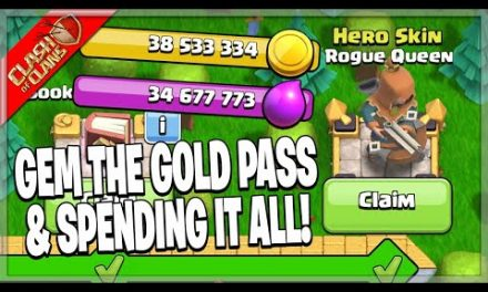 FEBRUARY GOLD PASS REVIEW & SPENDING SPREE! – Clash of Clans
