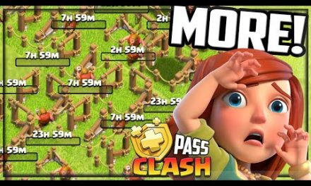 I NEED More Builders. Clash of Clans Gold Pass Clash #53