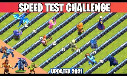 Speed Test Challenge   Finding The Fastest Troop   Troop Tournament   Clash of clans