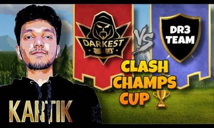Darkest MuZhan vs DR3 Team | Clash Champs Cup | #clashofclans #coc #cocattacks