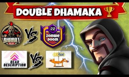 Stephanie Cup Quarter Finals | Fury Cup Ro8 – Bharat vs Zombie Doom | #clashofclans #coc #cocattacks