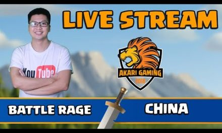 BATTLE RAGE vs TRUNG QUỐC (China) LIVE TH13 ATTACK Clash of clans | Akari Gaming