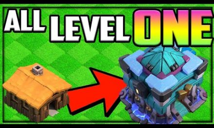 GEM to MAX! Clash of Clans ALL Level 1 Town Hall 13?