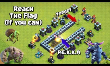 Reach The Flag Challenge | Clash of Clans Impossible Base