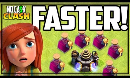 2 WEEKS in 30 Seconds! Upgrade FAST!  Clash of Clans No Cash Clash!