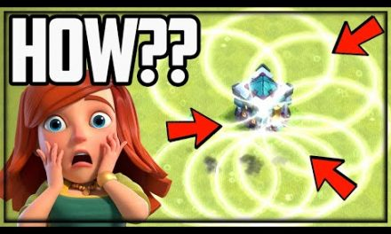 INVISIBLE Town Hall DESTRUCTION in Clash of Clans!